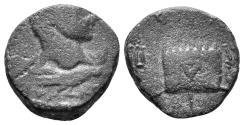 Ancient Coins - Mesopotamia. Rhesaena. Caracalla. 198-217 AD. AE 15mm (3.02 gm). Cf. Lindgren I 2608