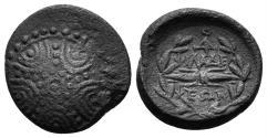 Ancient Coins - Lydia, Philadelphia. Circa 1st century BC. AE 16mm (4.11 gm). SNG Copenhagen 343