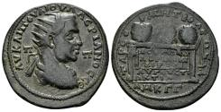 Ancient Coins - Kilikia, Tarsus. Valerian I. 253-260 AD. AE 31mm (12.08 gm). SNG Levante 1185