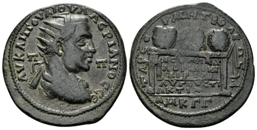 Ancient Coins - Kilikia, Tarsus. Valerian I. 253-260 AD. AE 31mm (12.08 gm). SNG Levante 1185