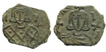 Ancient Coins - Michael I Rhangabé. 811-813 AD. AE Follis (3.83 gm, 19mm). Syracuse mint. Sear 1624