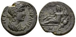 Ancient Coins - Lydia, Saitta. Imperial Times, 3rd century AD. AE 19mm (6.03 gm). SNG München 439