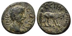 Ancient Coins - Mysia, Parion. Commodus. 177-192 AD. AE 14mm (1.89 gm). Cf. SNG France 5, 1487