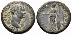 Ancient Coins - Lydia. Thyateira. Trajan. 98-117 AD. AE 25mm (9.14 gm). RPC III 1823