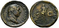 "World Coins - 19th Century or earlier AE Cast ""Sestertius"" (23.11 gm, 35mm). ""Paduan"" medal. Vitellius"