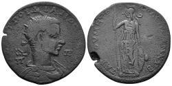 Ancient Coins - Kilikia, Tarsos. Gordian III. 238-244 AD. AE 35mm (19.67 gm). SNG France 1655; SNG Levante 1122. Rare
