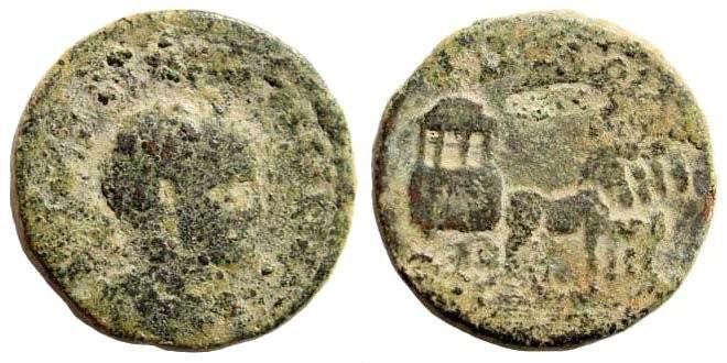 Ancient Coins - Syria, Decapolis. Philadelphia. Caracalla, 198-217 AD. AE 23mm (8.41 gm). Spijkerman 43