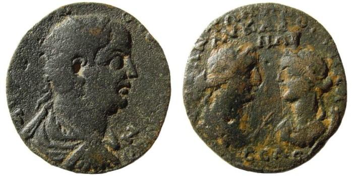 Ancient Coins - Cilicia, Seleucia ad Calycadnum. Valerian I. 253-260 AD. AE 33mm (12.99 gm). SNG France 1061-1063