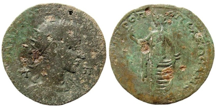 Ancient Coins - Cilicia, Tarsus. Gordian III. 238-244 AD. AE 33mm (19.19 gm). SNG PFPS 1412 (same dies)