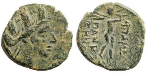 Ancient Coins - Phrygia, Apameia . Circa 133-48 BC. AE 17mm (3.77 gm). SNG Copenhagen 193