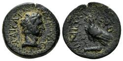 Ancient Coins - Kilikia, Hieropolis-Kastabala. Nerva. 96-98 AD. AE 16mm (3.42 gm). SNG Levante 1580. Rare
