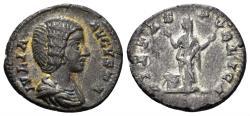 Ancient Coins - Julia Domna. Augusta, 193-217 AD. AR Denarius (2.44 gm, 18mm). Rome mint. Struck circa 200-207 AD. RIC IV 574
