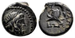 Ancient Coins - Phrygia. Apameia. Circa 133-48 BC. AE 11mm (1.95 gm). Cf. BMC 95