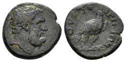 Ancient Coins - Lydia, Thyateira. Imperial Times, 2nd-3rd centuries AD. AE 14mm (2.22 gm). Copenhagen 585
