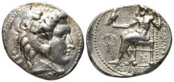 Ancient Coins - Macedonian Kingdom. Philip III Arrhidaios. 323-317 BC. AR Tetradrachm (17.18 gm, 27mm). Price 3570