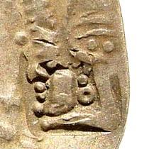 Ancient Coins - Hepthalites, Balkh. Coinage imitating Sasanian prototype of Hormazd IV. Circa 700 AD. AR Drachm (3.64 gm, 32mm) Two Countermarks