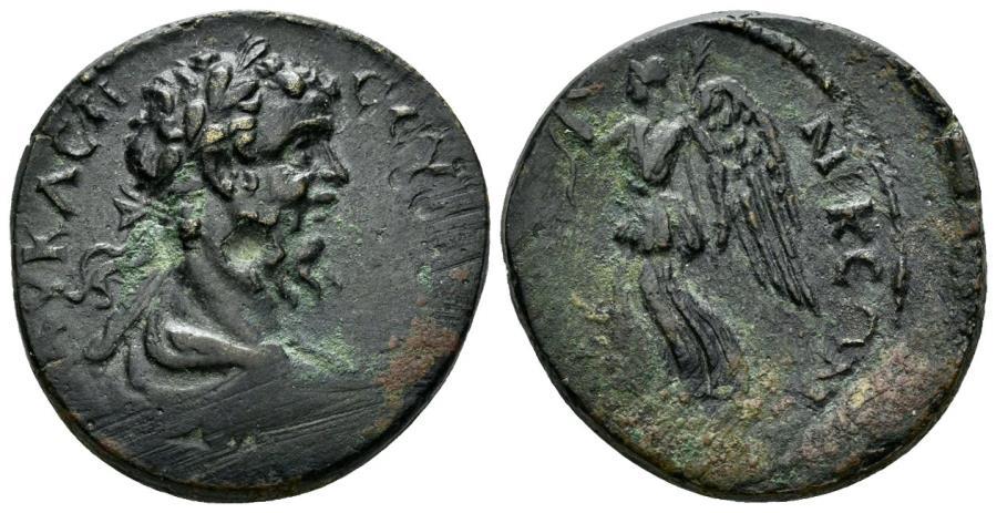 Ancient Coins - Macedon, Thessalonica. Septimius Severus. 193-211 AD. AE 27mm (13.33 g). Varbanov 4343