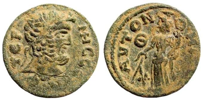 Ancient Coins - Pisidia, Termessos. 3rd century AD. AE 28mm (11.37gm). SNG von Aulock 5367 (same obv. die)