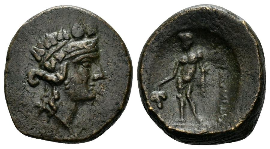 Ancient Coins - Thrace, Maroneia. 1st century BC. AE 19mm (6.18 gm). SNG Copenhagen 546