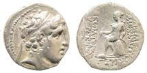 Ancient Coins - Seleucid Kingdom. Alexander I (Balas), 152/1-145 BC. AR Drachm (4.10 gm, 17mm). SNG Spaer 1422