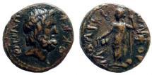 Ancient Coins - Syria, Seleukis and Pieria. Laodicea ad Mare(?). 1st century BC. AE 16mm (3.84 gm). SNG Copenhagen 335
