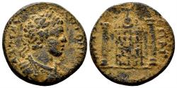 Ancient Coins - Pisidia, Pogla. Caracalla. 198-217 AD. AE 23mm (8.62 gm). Von Aulock, Pisidiens I, 1306