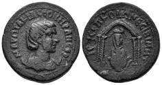 Ancient Coins - Mesopotamia, Nisibis. Otacilia Severa. Augusta, 244-249 AD. AE 25mm (12.72 gm). BMC 27-32