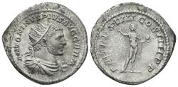 Ancient Coins - Caracalla. 198-217 AD. AR Antoninianus (4.86 gm, 24mm). Rome mint. Struck 215 AD. RIC IV 264c