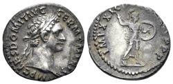 Ancient Coins - Domitian. 81-96 AD. AR Denarius (3.07 gm, 19mm). Struck 89 AD. RIC II 143