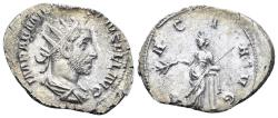 Ancient Coins - Aemilian. 253 AD. AR Antoninianus (3.76 gm, 24mm). Rome mint. struck 253 AD. RIC IV 8