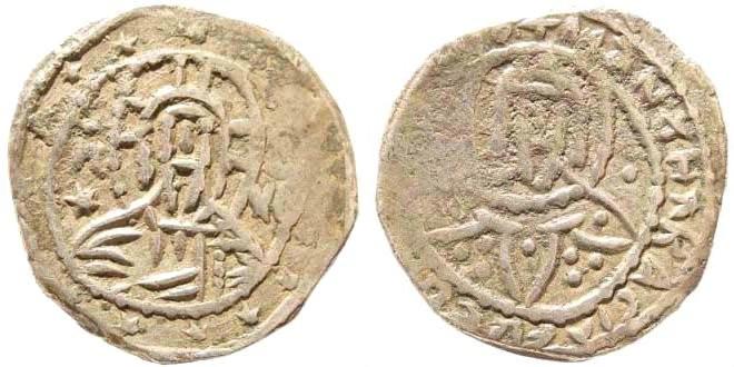 Ancient Coins - Manuel II Palaeologus. 1391-1425. AR Half Stavrata (3.67 gm, 20mm). Class II. Constantinople mint. Struck 1403-1425. DOC 1433-4