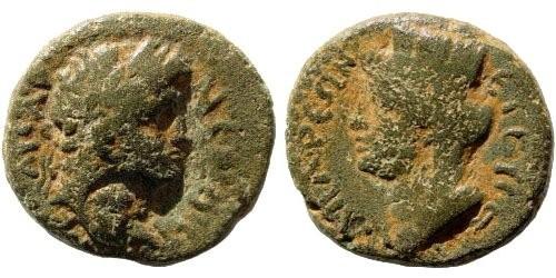 Ancient Coins - Cilicia, Anazarbos, Nero, 54-68 AD, AE 14mm (2.26 gm). RPC -; Ziegler, Anazarbos, 47-9.1. Very rare