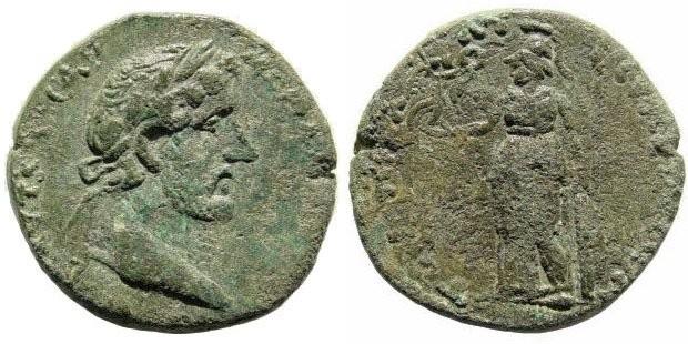 Ancient Coins - Cilicia, Seleucia ad Calycadnum. Antoninus Pius. 138-161 AD. AE 23mm (7.70 gm). Lindgren/ Kovacs A1579A (same dies)