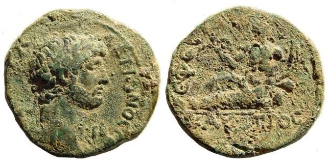 Ancient Coins - Ionia, Ephesus. Hadrian. 117 – 138 AD. AE 23mm (6.36 gm). SNG Österreich 560