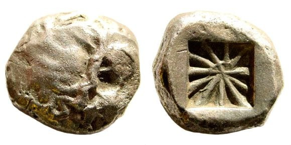 Ancient Coins - Dynasts of Lycia. circa 520-480 BC. AR Stater (9.18 gm, 18mm). Rosen 681; SNG von Aulock 4041. Very rare