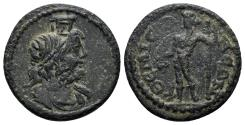 Ancient Coins - Phrygia, Themisonion. Early-mid 3rd century AD. AE 19mm (3.84 gm). BMC, Phrygia, p. 419. 8