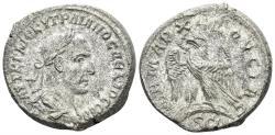 Ancient Coins - Syria, Seleucis and Pieria. Antioch. Trajan Decius. 249-251 AD. Bil. Tetradrachm (12.87 gm, 26mm). Struck 250/1 AD. Prieur 578