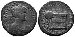 Ancient Coins - Pontos, Amaseia. Caracalla 198-217 AD. AE 29mm (14.31gm). Dated CY 208 (206/7 AD). Rec Gen 80