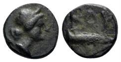 Ancient Coins - Lykia. Bubon. 2nd to 1st Century BC. AE 10mm (1.13 gm). BMC p. 47, 1, Rare mint