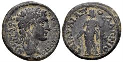 Ancient Coins - Karia. Trapezopolis. Time of Julia Domna, 193-217 AD. AE Diassarion (7.90 gm, 24mm). RPC IV online 3338