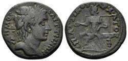 Ancient Coins - Lydia, Saitta. 193-211 AD. AE Diassarion (5.91 gm, 23mm), Attikos magistrate. BMC 10