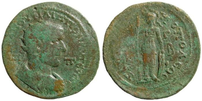 Ancient Coins - Cilicia, Tarsus. Philip I. 244-249 AD. AE 35mm (22.82 gm). Ziegler, Sammlungen, 796 (same dies)