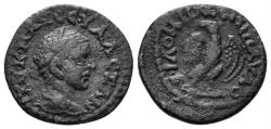 Ancient Coins - Phrygia, Philomelion. Severus Alexander. 222-235 AD. AE 16mm (2.43 gm). Paulos magistrate. RPC 5775 (temporary)