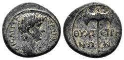 Ancient Coins - Lydia, Thyateira. Nero. 54-68 AD. AE 16.5mm (2.48 gm). Circa 50-54 AD. RPC I, 2382