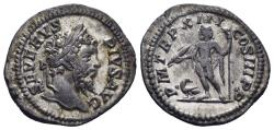 Ancient Coins - Septimius Severus. 193-211 AD. AR Denarius (3.34 gm, 19mm). Rome mint. Struck 205 AD. RIC IV 196