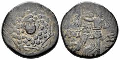 Ancient Coins - Pontos, Amisos. Circa 85-65 BC. AE 20.5mm (6.77 gm). SNG Copenhagen 167-172