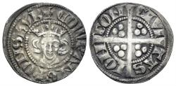 World Coins - Plantagenet. Edward I. 1272-1307. AR Penny (1.34 gm, 19mm). New coinage, class 2b. London mint. Struck 1279-1280. North 1014