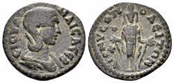 Ancient Coins - Phrygia, Dionysopolis. Julia Maesa, Augusta. 218-224 AD. AE 21mm (2.96 gm). RPC Online 5655