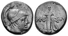 Ancient Coins - Pontos, Amisos. Circa 100-85 BC. AE 20mm (7.93 gm). SNG BMC Black Sea 1147