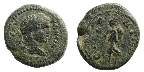 Ancient Coins - Pamphylia, Side. Caracalla. 211-217 AD. AE 21mm (5.37 gm). Unpublished (?)